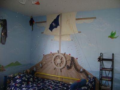 Hoe maak je een piraat thema slaapkamer te cre ren e2r - Hoe een volwassen slaapkamer te versieren ...