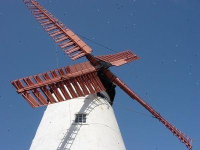 Hoe maak je een windmolen te bouwen maak een huis windmolen e2r - Hoe een overdekt terras te bouwen ...