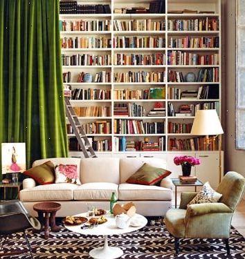 Hoe maak je een huis bibliotheek te versieren e2r - Hoe een moderne woonkamer te versieren ...