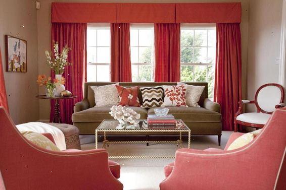 Hoe wordt wedstrijd fluwelen gordijnen kleur naar woonkamer ...