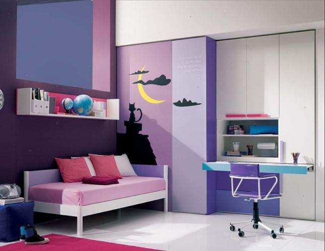 Hoe maak je een jong meisje slaapkamer versieren u e r