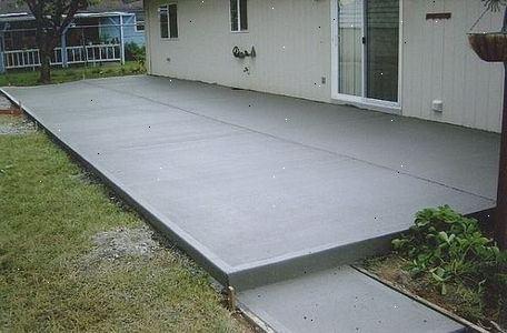 Beton Storten Tuin : Hoe beton storten