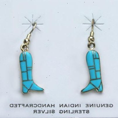Hoe te inlay turquoise in hout