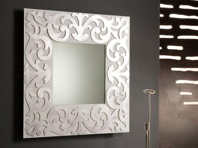 hoe om decoratieve wand spiegels kiezen e2r. Black Bedroom Furniture Sets. Home Design Ideas