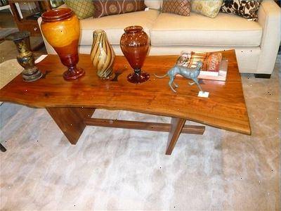 Boomstronk salontafel
