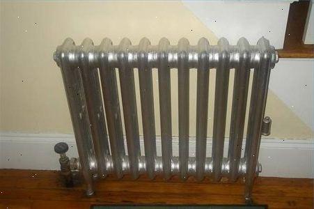 Verf verwijderen radiator