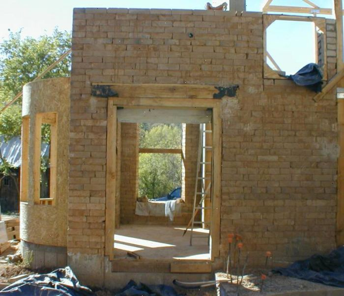 Hoe maak je een aarde blok huis te bouwen e2r - Hoe een overdekt terras te bouwen ...