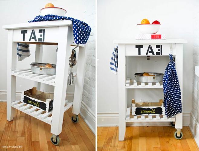 Hoe te keukenkast deuren te gebruiken voor extra werkruimte e2r - Hoe een keuken te verlichten ...